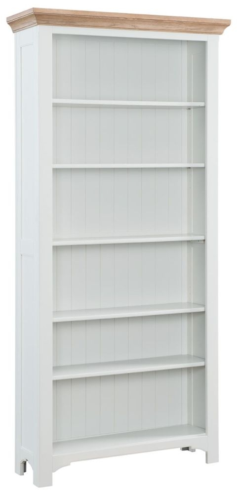 Georgia Grey Painted Bookcase