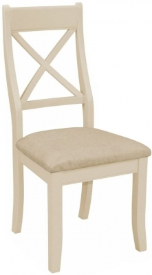 Harmony Cobblestone Oak and Painted Bedroom Chair