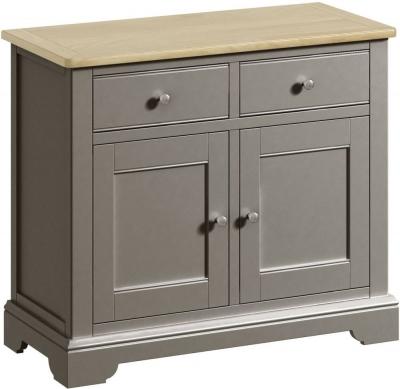 Harmony Oak and Grey Painted 2 Door 2 Drawer Sideboard