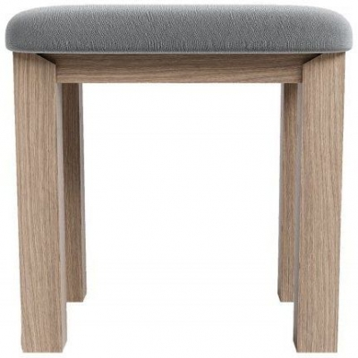 Laguna Oak Dressing Stool