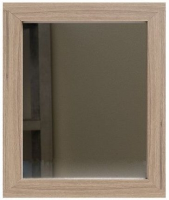 Laguna Oak Rectangular Gallery Mirror - 50cm x 80cm
