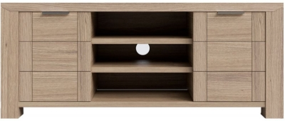 Laguna Oak TV Cabinet