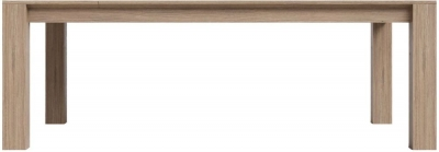 Laguna Oak 140cm-190cm Extending Dining Table