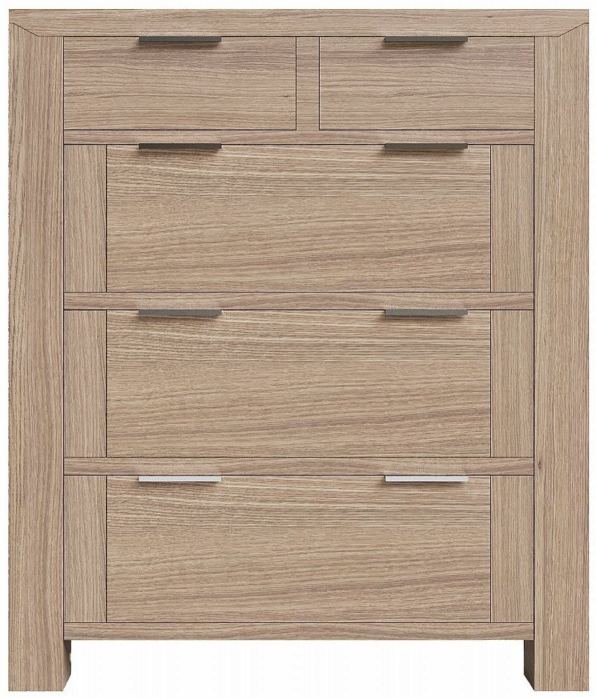 Laguna Oak 2+3 Drawer Chest