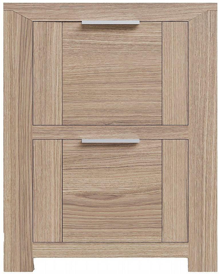 Laguna Oak 2 Drawer Bedside Cabinet