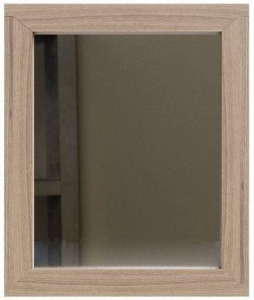 Laguna Oak Rectangular Gallery Mirror - 50cm x 80cm