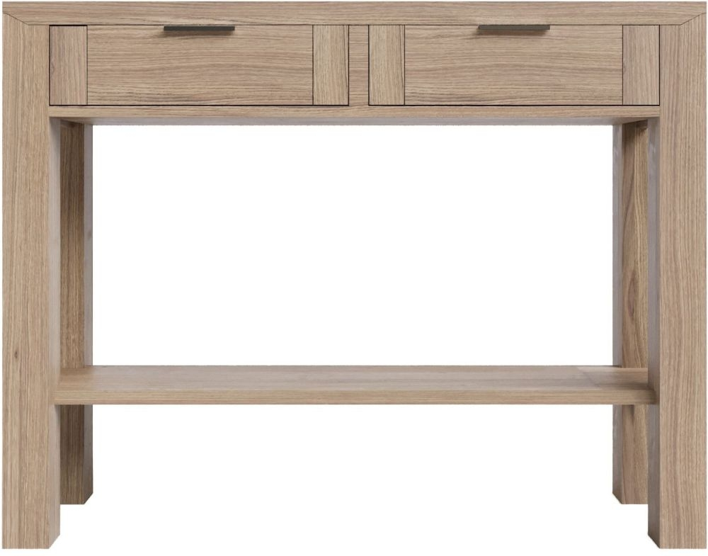 Laguna Oak Console Table