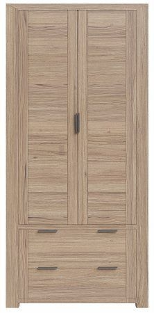 Laguna Oak Gents Wardrobe