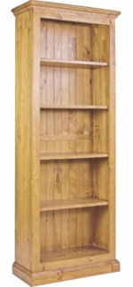 Langley Pine Bookcase - 26inch X 65inch
