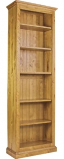 Langley Pine Bookcase - 26inch X 78inch