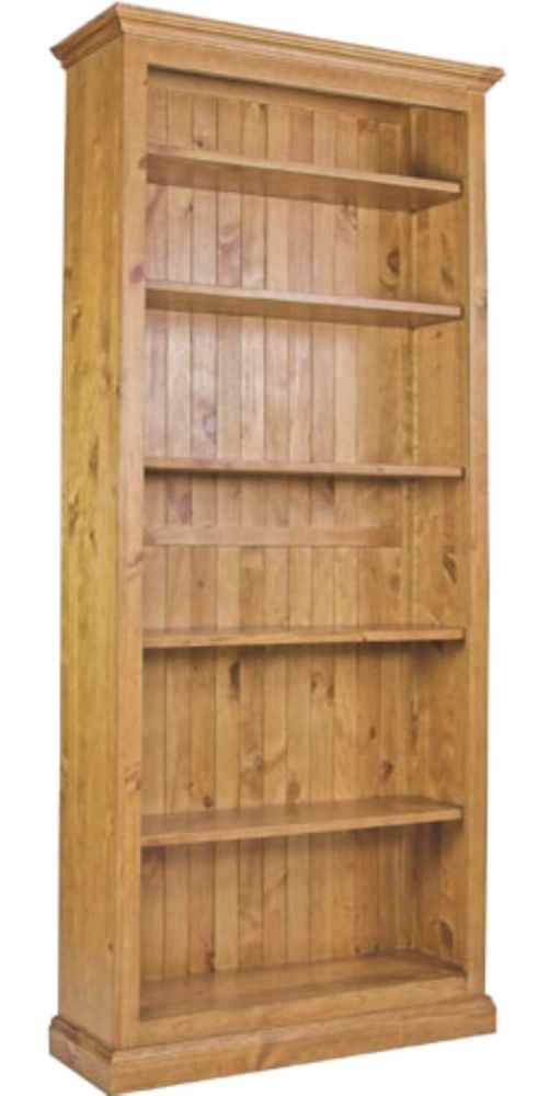 Langley Pine Bookcase - 36inch X 78inch