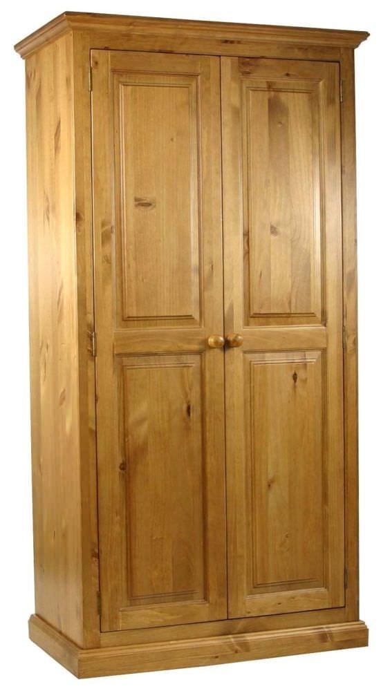 Langley Pine Wardrobe - Small Full Hanging