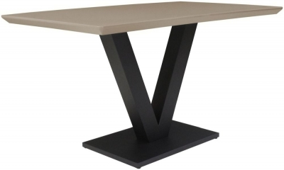 Larson Cappuccino Gloss Dining Table