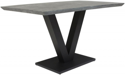 Larson Tetro Stone Effect Dining Table