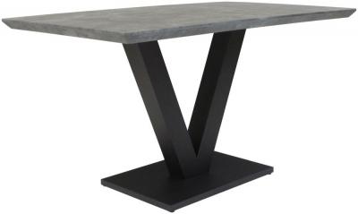 Larson Tetro Stone Effect Dining Table