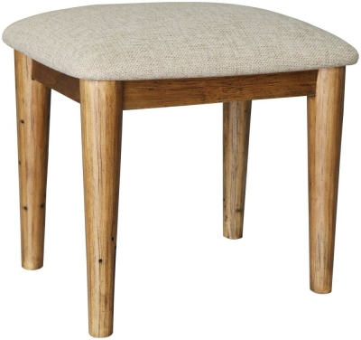 Loft Reclaimed Pine Dressing Stool