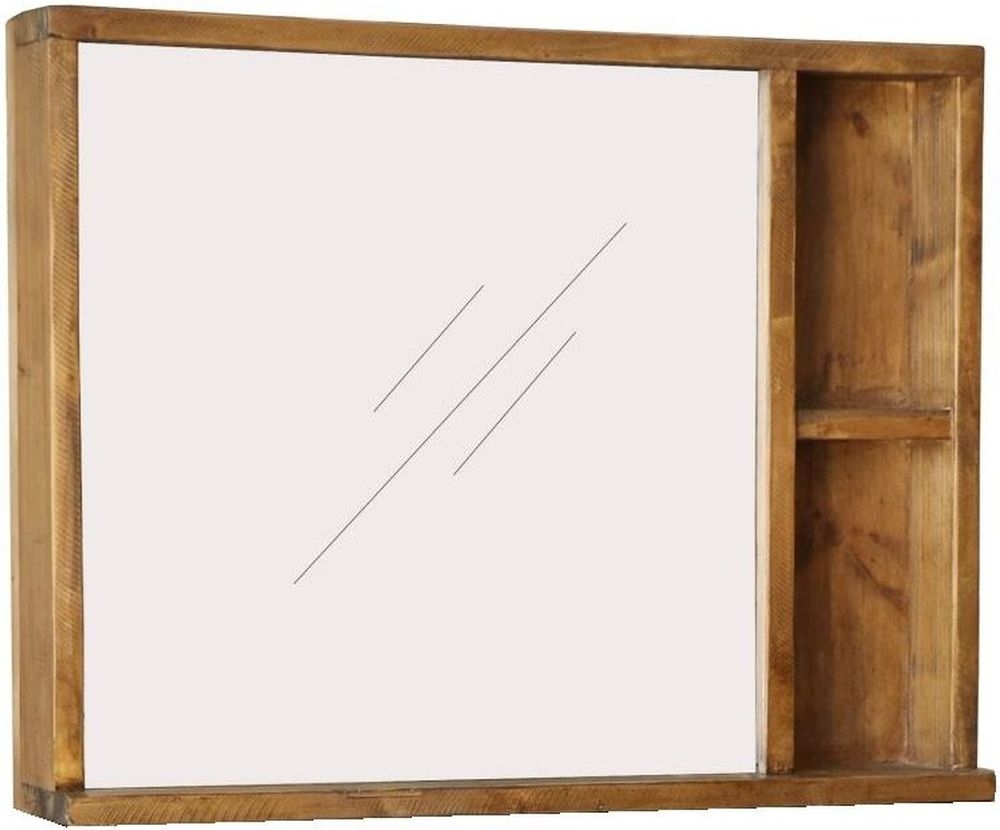 Loft Reclaimed Pine Dressing Mirror