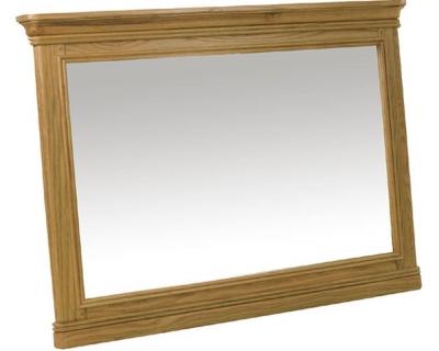 Loire Oak Mirror - Hanging Large