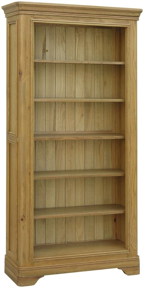 Loire Oak Bookcase - Large