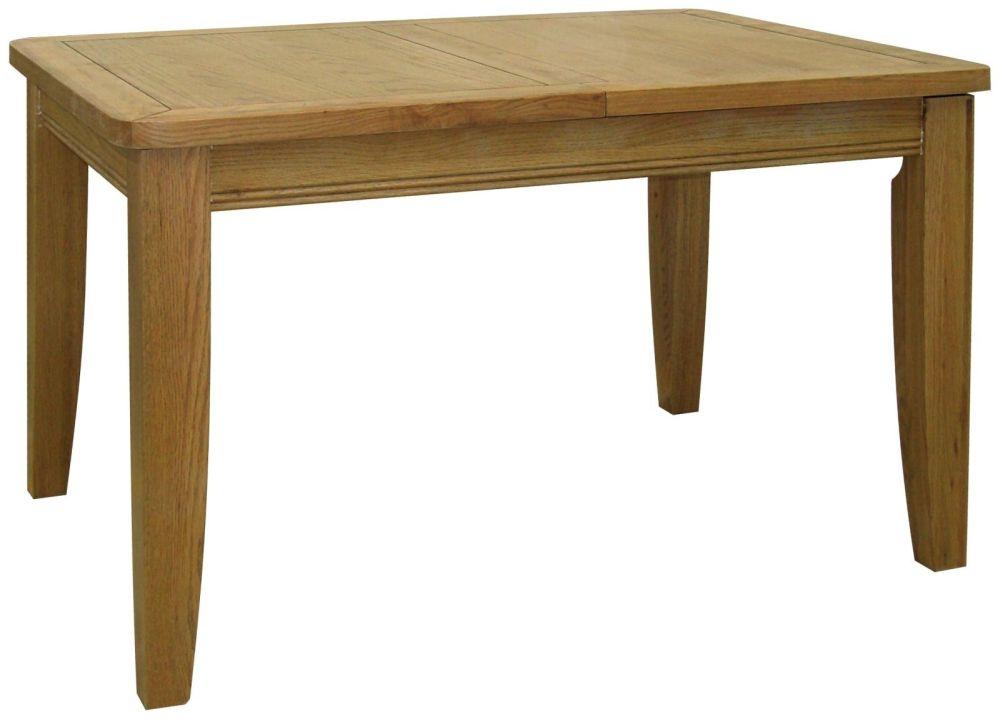 Loire Oak Dining Table - 181cm-231cm Large Extending