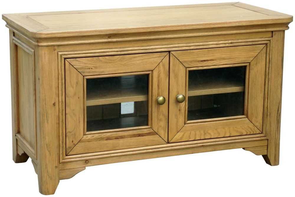 Loire Oak TV Unit - 2 Door