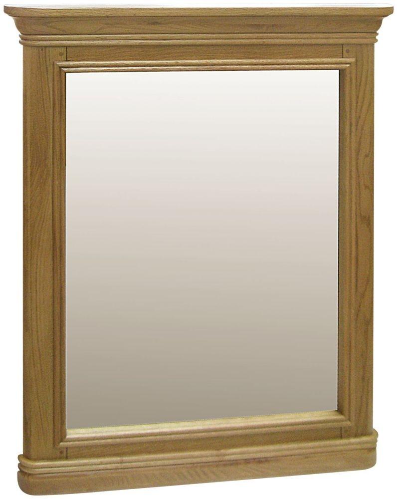 Loire Oak Rectangular  Wall Mirror