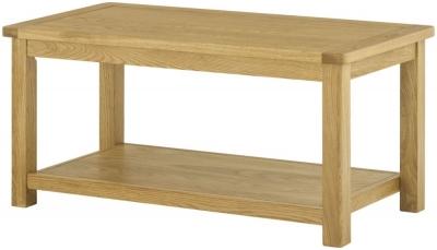 Lundy Oak Coffee Table