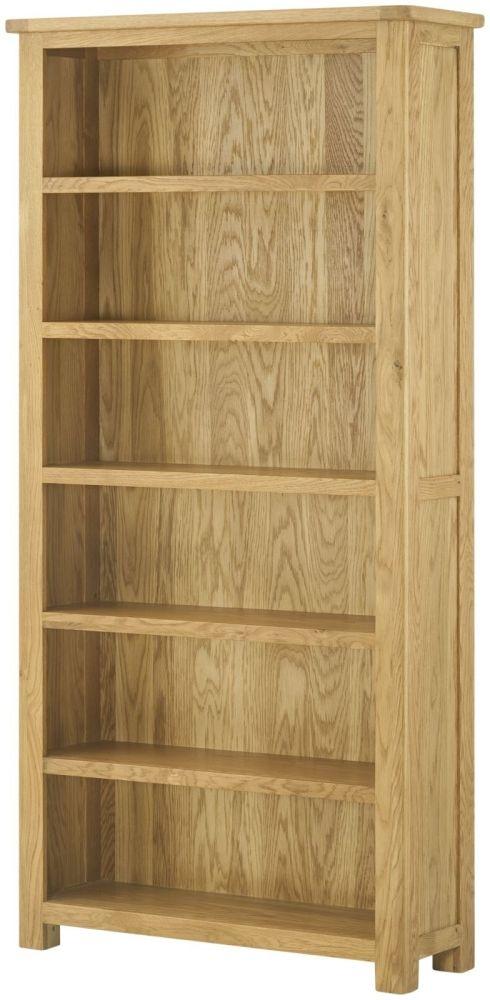 Lundy Oak Bookcase - Large