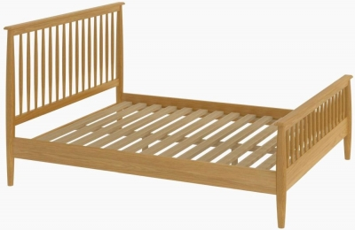 Malmo Oak Bed