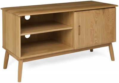 Malmo Oak Small TV Cabinet