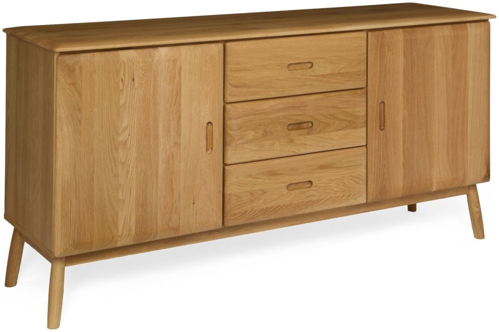 Malmo Oak Medium Sideboard