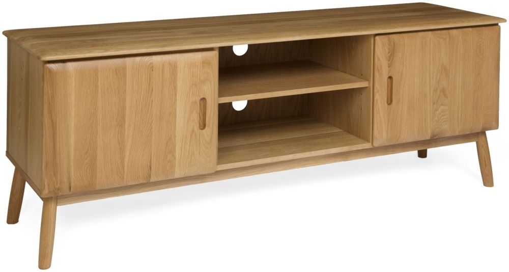 Malmo Oak 2 Door TV Unit