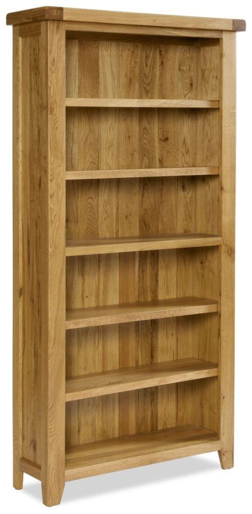 Manor Oak Bookcase - Large