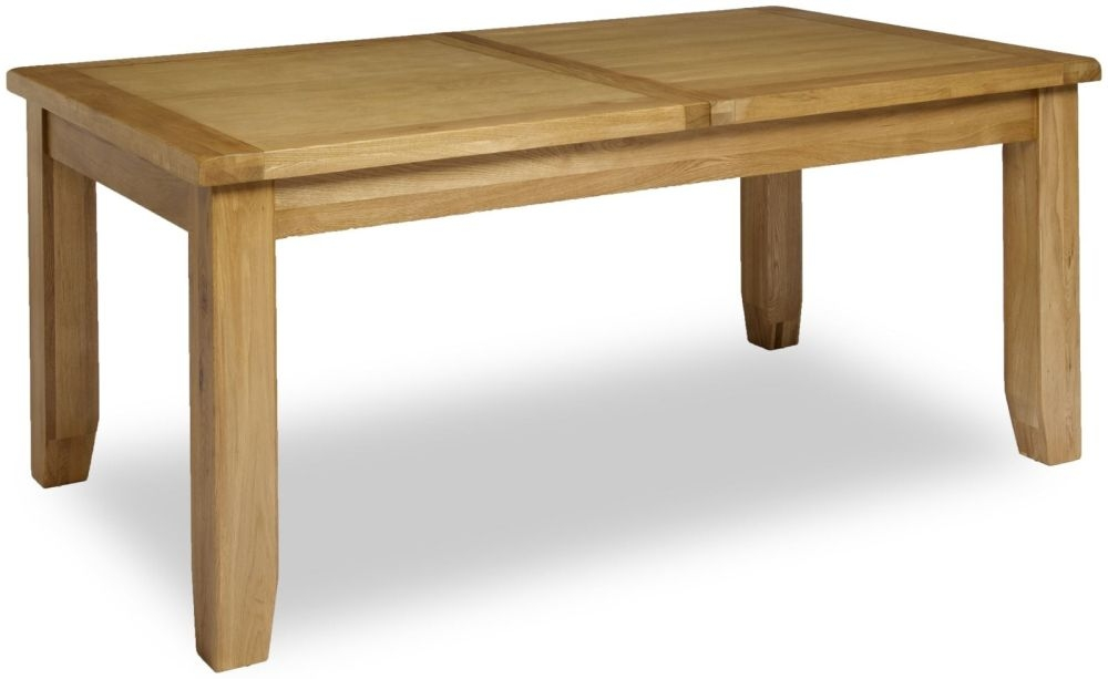 Manor Oak Dining Table - Large Extending