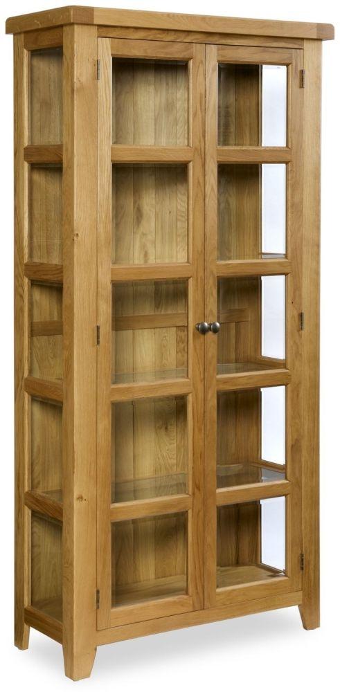 Manor Oak Display Cabinet