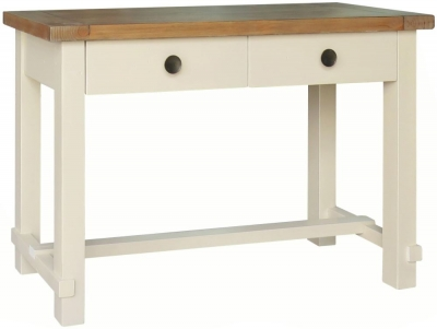 Melton Reclaimed Pine Console Table - 2 Drawer