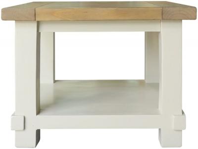Melton Reclaimed Pine Lamp Table