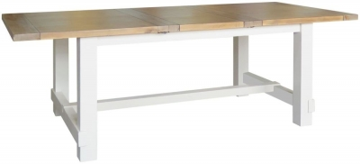 Melton Reclaimed Pine Extending Dining Table - Large