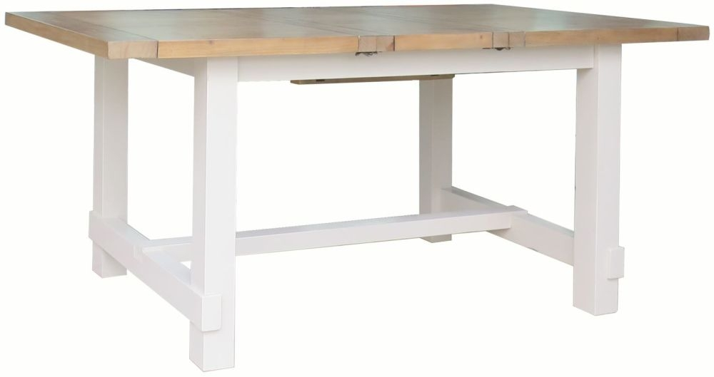 Melton Reclaimed Pine Extending Dining Table - Small