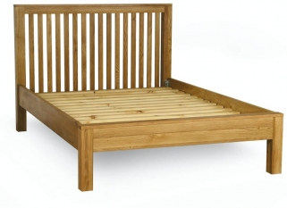 Milano Oak Bed