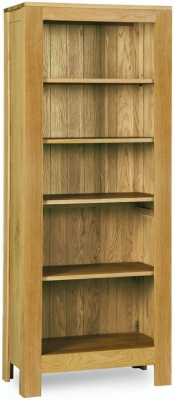 Milano Oak Bookcase - Tall