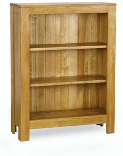 Milano Oak Bookcase - Wide