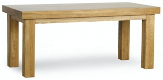 Milano Oak Dining Table - 1.8M Thick Top