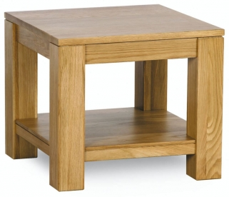 Milano Oak Lamp Table