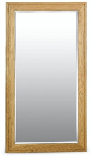 Milano Oak Mirror - Large