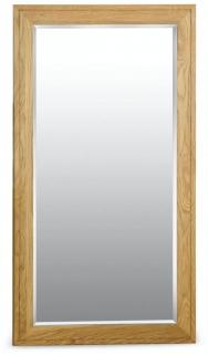 Milano Oak Mirror - Large