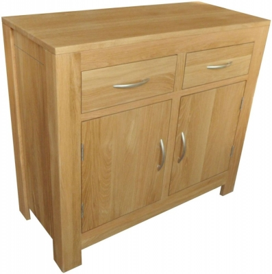 Milano Oak Sideboard - 2 Door