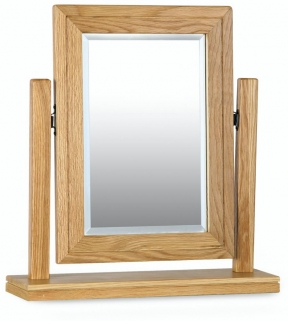 Milano Oak Swing Mirror