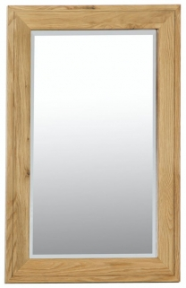 Milano Oak Wall Mirror