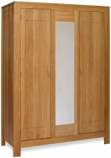Milano Oak Wardrobe - Triple